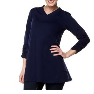 Susan Graver French Terry Tunic